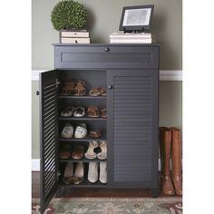 Baxton Studio Euan Espresso Wood Shoe Cabinet - Overstock™ Shopping - Great Deals on Baxton Studio Media/Bookshelves