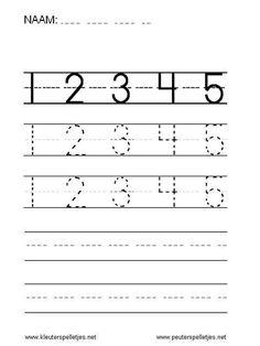 Pre K Activities, Preschool Learning Activities, Preschool Worksheets, Kids Learning, Numbers Preschool, Learning Numbers, Writing Numbers, Free Printable Worksheets, Alphabet Worksheets