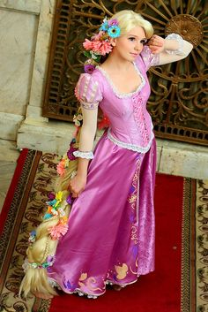 rapunzel cosplay - Google Search
