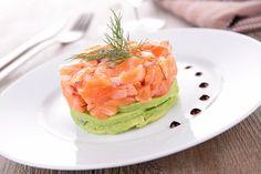 tartar de salmón #saumon#food#comida#deliciosa#sana#pescado#aguacate