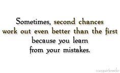 Art Second chances. quotes