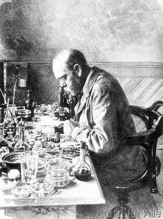 Frank nach Hancox - Robert Koch (1843-1910) from 'The Illustrated London News', 1897