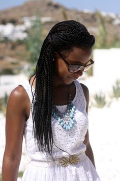 Senegalese twists!! I love the way these look, they look so natural! I want mines to look like this when i install them (well maybe a couple of inches longer lol)