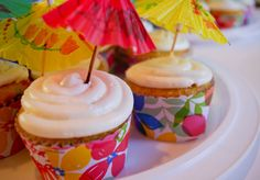 Hawaiian Cupcakes!