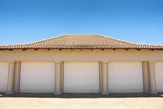 Gorgeous Sliding Barn/Garage Door Plans and Installation Tutorial Used Garage Doors, Unique Garage Doors, Garage Doors For Sale, Garage Door Parts, Garage Door Insulation, Garage Door Springs, Overhead Garage Door, Barn Garage, Diy Garage