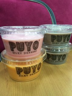 Silky Desserts from PUYO