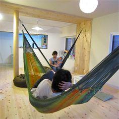 室内ハンモック設置方法 - ハンモック&ブランコハンモック *** 浮遊 ***