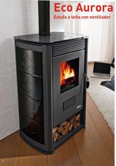 Imagen de Estufa de leña ventilada 13,9 kW EcoAurora