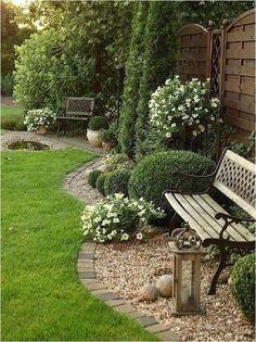30 Lawn Edging Designs for You to Pick - DIY Garten Landschaftsbau Garden Shed Diy, Backyard Garden Design, Easy Garden, Garden Ideas, Patio Ideas, Backyard Ideas, Garden Bed, Backyard Patio, Amazing Gardens