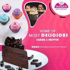 Love pastries or muffins? We serve the best for the sweet tooth out there😇. . Visit your nearest store in #chattisgarh to get the best😍. What