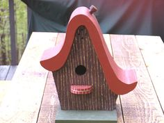 Curved Roof Birdhouse