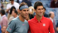 Tak Hanya Lewat SMS, Nadal Sanjung Langsung Djokovic