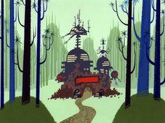 Samurai Jack backgrounds by Scott Wills & Dan Krall.