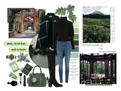 """""""Scotland"""" by alinalu ❤ liked on Polyvore featuring Stuart Weitzman, Burberry, River Island, Creatures of the Wind, Royce Leather, Lancôme, Burt's Bees, Rituals, EB Florals and Hublot"""
