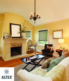 #livingroomdecor #blinds #windows #comfy #meridian