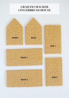 DIY Graham Cracker Gingerbread Houses