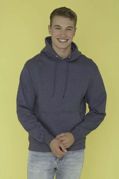 This ATC Everyday Fleece Hooded Sweatshirt is one of the most affordable sweatshirts you'll find. It's 13-oz, and made with a 50/50 cotton/polyester fleece blend. It's got compacted yarns to minimize shrinkage, and a double lined hood with a drawstring. Shop colours! T Shirt Company, Hooded Sweatshirts, Hoodies, Atc, Yarns, Colours, Pullover, Cotton, Shopping