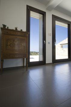 Villa privata a ragusa con Pietralavica Darkgrey