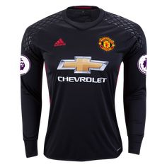 250a3c459 RED DEVILS 16 17 LS GOALKEEPER JERSEY PERSONALIZED Football Passing Drills