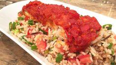 Sambalmakreel met rijstsalade - recept | 24Kitchen