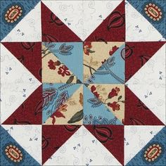 1000 Images About Quilt Star Blocks On Pinterest Star