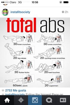 Total abs you can do at home