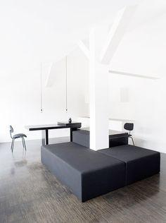 ♂ Minimalist design home Apartment Boarding House Münzstrasse by Thomas Bendel
