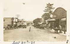 coon valley photo: Street Scene - Coon Valley, Wisconsin - Sept 1929 CoonValleyWI-Sept201929.jpg