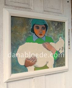 the sheep herder by primrose8raven on Etsy  Artist Dana Bloede