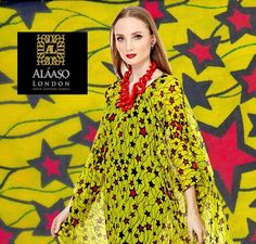 Yellow  African Print Ankara Chiffon Fabric | Stars print Ankara | African Print Chiffon | African Print Material | Tribal Fabric | PER YD by…