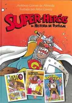 Divulgando Banda Desenhada: A História de Portugal tem Super-Heróis?