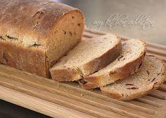 Cranberry Nut Yeast Bread | my kitchen addiction