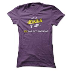 Its A SHAILA ᗛ thing, you wouldnt understand !!SHAILA, are you tired of having to explain yourself? With this T-Shirt, you no longer have to. There are things that only SHAILA can understand. Grab yours TODAY! If its not for you, you can search your name or your friends name.Its A SHAILA thing, you wouldnt understand !!