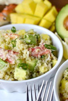California Crab and Quinoa Salad