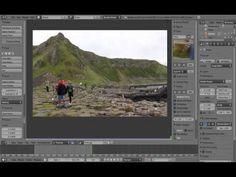 Beginners Blender 3D: Tutorial 23 - Camera Motion Tracking