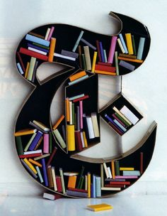 Shelves Design: Ronan & Erwan Bouroullec #home #homedecor #decoration #typography - cool bookshelf!