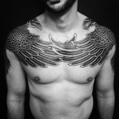 Tattoos By Peter Walrus Madsen, A Mash-Up Of Nordic Folk Art And Geometry