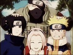 Naruto, sasuke, kakashi, sakura