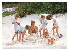 Diana Princess Of Wales Holiday In Virgin Isles _ Avril 1990 / Suite
