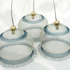 Wire Crochet Handmade Icy Lampshade – Home Design