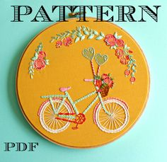 Embroidery Patterns Printable Stitching Ideas For 2019 Embroidery Flowers Pattern, Learn Embroidery, Hand Embroidery Stitches, Embroidery Patches, Embroidery For Beginners, Embroidery Hoop Art, Machine Embroidery, Embroidery Designs, Embroidery Shop
