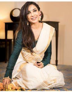 2018 New Tamil Actress Latest Glamour HD Gallery Collections - Gethu Cinema Tamil Saree, Onam Saree, Indian Sarees, Trendy Sarees, Stylish Sarees, Kerala Saree Blouse Designs, Buy Designer Sarees Online, Designer Wear, Set Saree