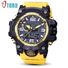 Mud Resist Outdoor Sports Watch For Men Cheap Watches For Men, Mens Watches For Sale, Mens Sport Watches, Cool Watches, Women's Watches, The Watch Shop, Watch Sale, Waterproof Sports Watch, Mens Designer Watches
