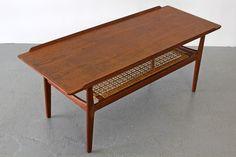 Teakwood Coffee Table by Arne Vodder for Vamo