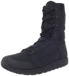 """Danner Men's Tachyon 8-Inch Black Work Boot Danner. $139.95. Fabric. Heel measures approximately 1."""". Shaft measures approximately 8.5"""" from arch. Rubber sole. Platform measures approximately 0.75"""" . Superior ultralight upper"""
