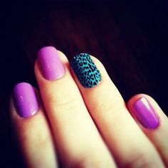 turquoise and magenta