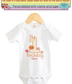 My+First+Second+Birthday+Pumpkin+Fall+Girl+Boy+Shirt+by+Sweetteez1,+$8.00