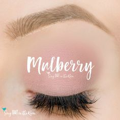 Mulberry ShadowSense is a matte, pinky purple cream to powder eyeshadow color by SeneGence.  #mulberry #eyeshadow #shadowsense #senegence #matte
