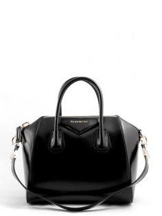 33b6113bb3d5 ANTIGONA - Givenchy s antigona small ba black bag. Rigid calf leather bag  in black color
