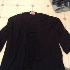 Black Cardigan  Never Worn.  Nwot Sweaters Cardigans